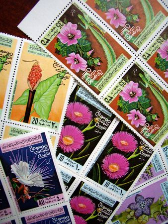 lybia: lybian postage stamps