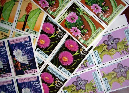 lybia: beauty lybian stamps