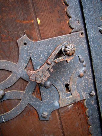 doorhandle: old door handle, Alcsut, Hungary