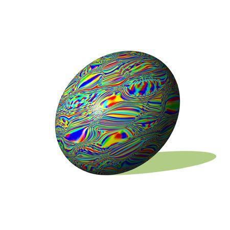 patterned: patterned egg