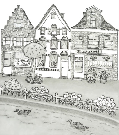 A dutch cheesemaker house Stock Photo - 9937000