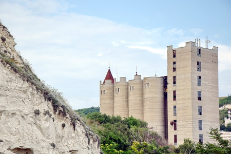 Abandoned Silo Rock Chirakman Agriculture Bulgaria Kavarna