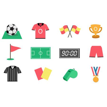 offside: Football icon set