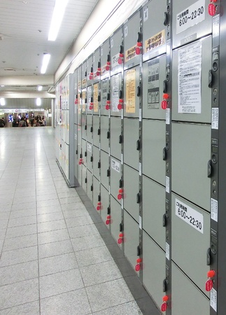 Coin Operated Lockers Stock Photo - 12790456