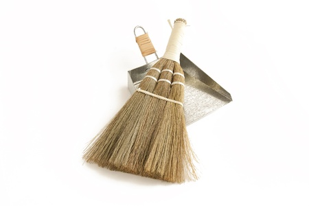 Japanese Broom and dustpan