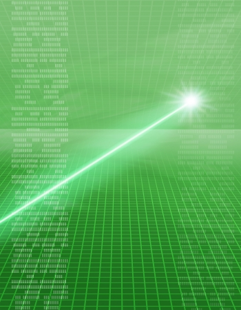 laser image Stock Photo