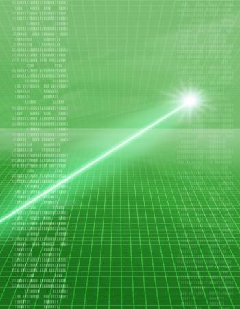 laserbeeld Stockfoto