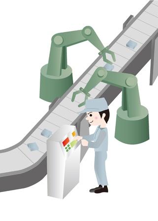 Illustration of Workers Illustration