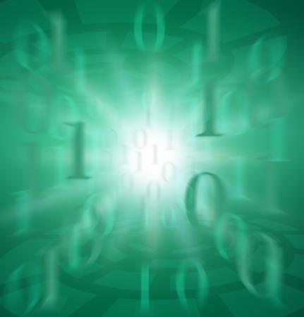 Binary code image