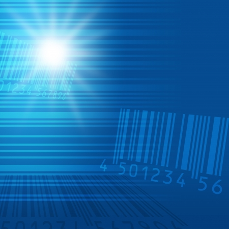 barcode image material Stock Photo