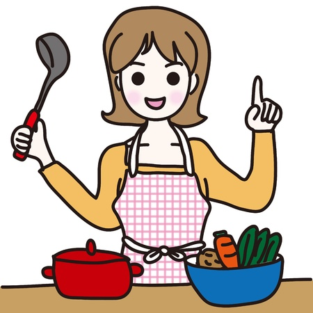 Woman to cook