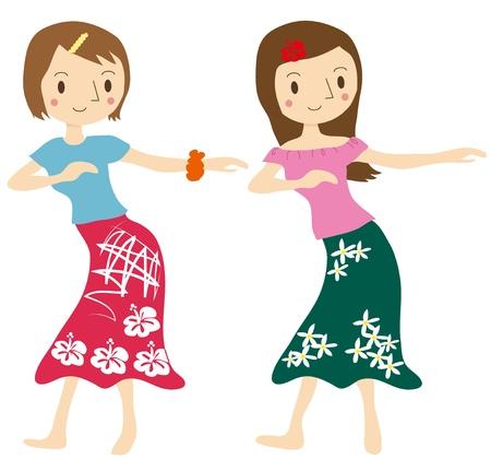 lessons: Woman hula