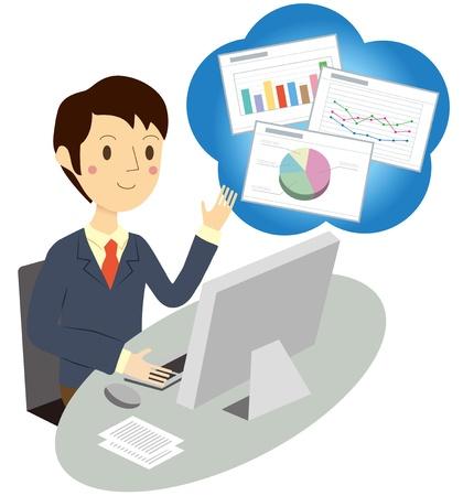 Businessman proposal