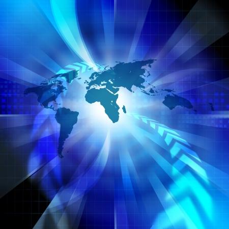グローバル ネットワーク イメージ