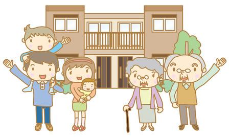 Twee-familie woning