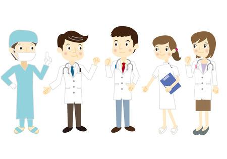 medical team: Team medical care