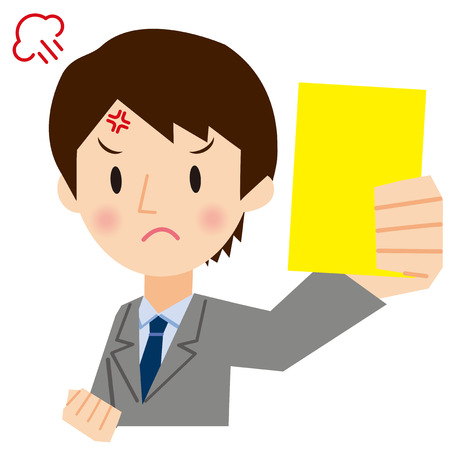 recommendations: Businessman to show a yellow card