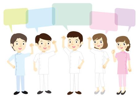 casey: Medical team