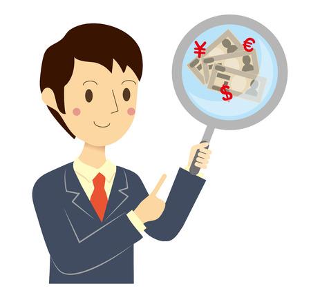conditions: Businessman financial assessment