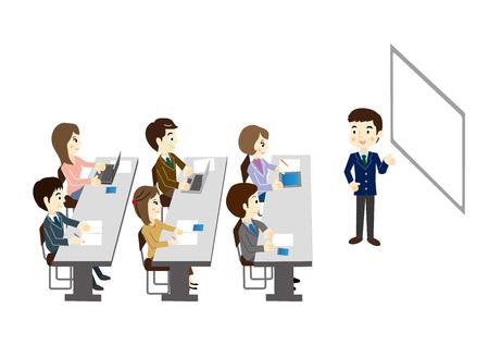 Business Seminar Illustration