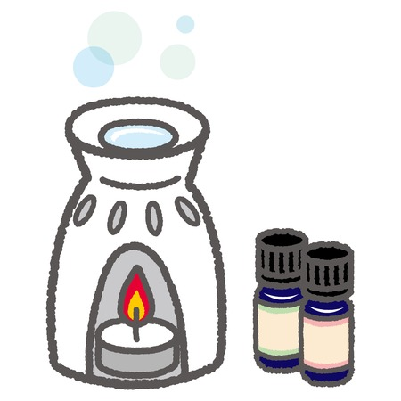 miscellaneous goods: Aroma pot and aroma oil