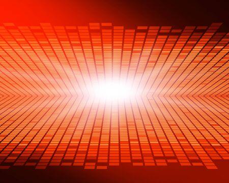 Red glittering digital background image