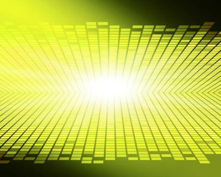 Yellow glittering digital background image