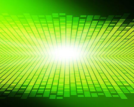 Green glittering digital background image