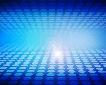 Blue dot pattern background image