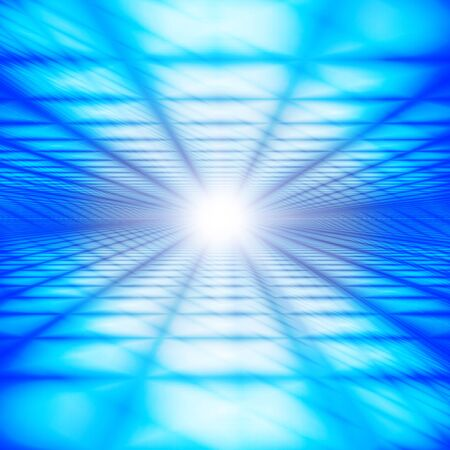 Blue Digital Cyberspace Image Background Material