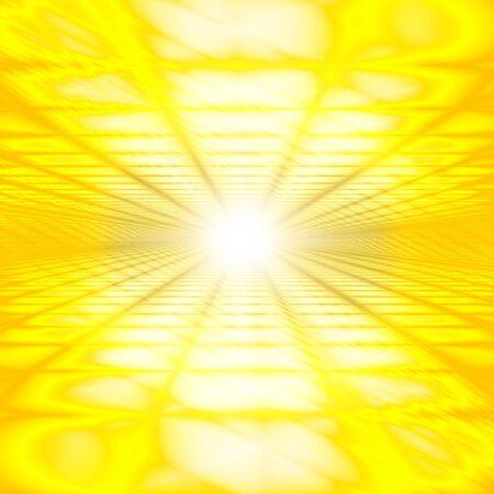 Yellow Digital Cyberspace Image Background Material 版權商用圖片