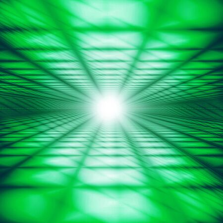 Green Digital Cyberspace Image Background Material