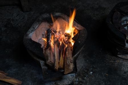 fire and firewood Stock Photo - 22502388
