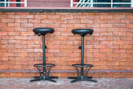 Outdoor Bar counter and Bar stools