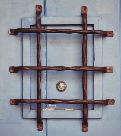 peephole on a door