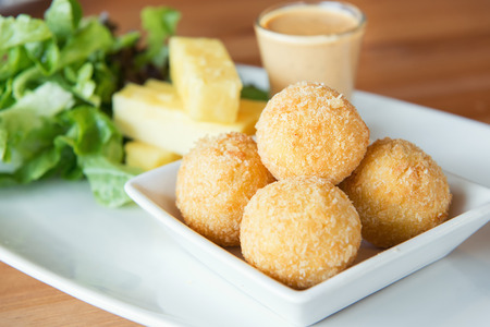 balls deep: Deep Fried Cheese Balls