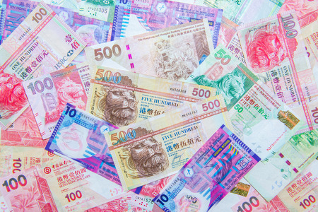 hong: Hong Kong Dollar currency