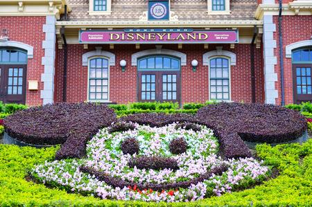 HONG KONG, CHINA - JUNE 10: Hong Kong Disneyland on JUNE 10, 2015 in Hong Kong. Hong Kong Disneyland built in 2012,  the world fifth of Disneyland.