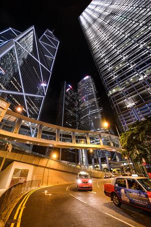 HONG KONG - JUNE 09: City Landscape of Hong Kong. Hong Kong. JUNE 09, 2015. The Modern building of Hong Kong. Editorial