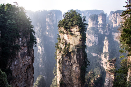 hunan: Zhangjiajie National Forest Park, Hunan, China