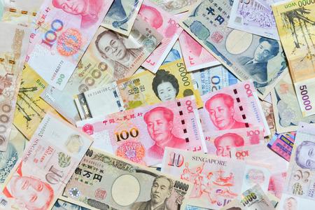 won: International Currency, RMB, Yen, Won, Baht, Singapore dollar, Hongkong dollar