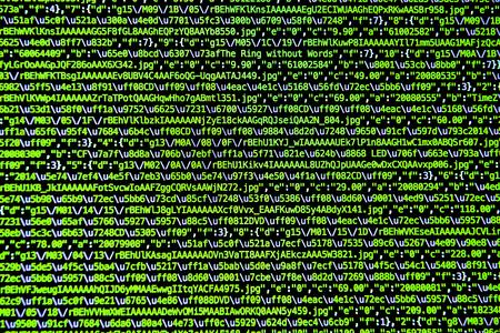 computer language: computer language source code Stock Photo