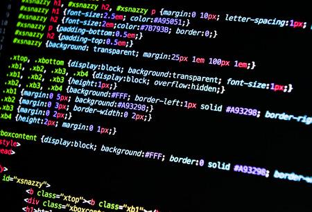 コンピューター言語のソースコード
