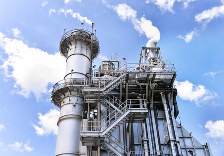 generating station: Gas turbine electricity generating power station