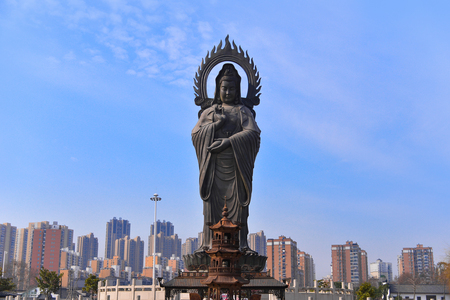 Guiyuan Temple  s a Buddhist temple located on Wuhan City, Hubei Province of China.