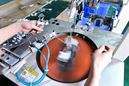 aluminum: Automatic winding cable machine