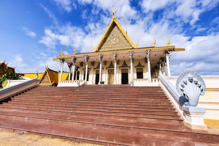 Royal Palace Chanchhaya Pavilion in Phnom Penh, Cambodia.