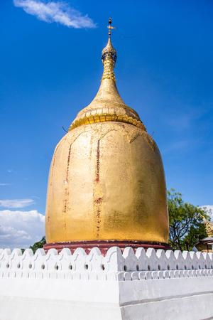 Buphaya Pagoda in Bagan, Myanmar.
