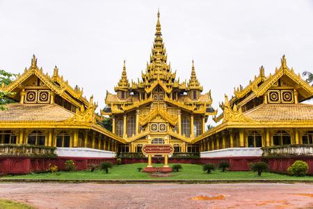 Kambawzathardi Golden Palace (Palace of Bayinnaung) in Bago, Myanmar
