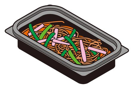 Japanese Napolitan Pasta Lunch Box